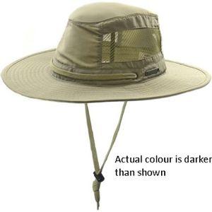 Crown Cap Boonie Mesh Hat - Olive