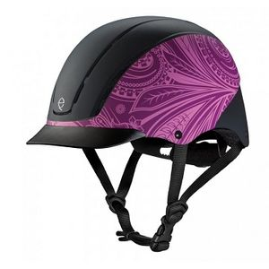 Troxel Spirit Helmet - Purple Boho