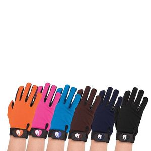 Loveson All Weather Adults Riding Gloves - Black