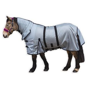 Loveson All-In-One Fly Rug - Silver/Black