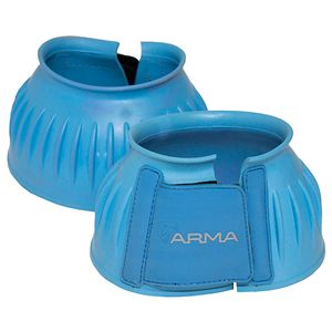 Shires Arma Rubber Bell boots - Blue