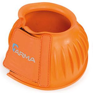 Shires Arma Rubber Bell boots - Orange