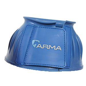 Shires Arma Rubber Bell boots - Royal Blue