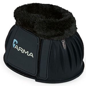 Shires Arma Fleece Lined Bell boots - Black