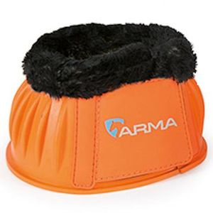 Shires Arma Fleece Lined Bell boots - Orange
