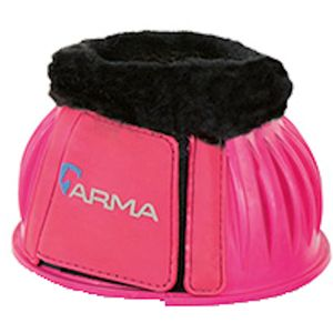 Shires Arma Fleece Lined Bell boots - Pink