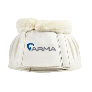 Shires Arma Fleece Lined Bell boots - White