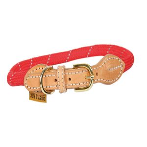Digby & Fox Reflective Dog Collar - Red