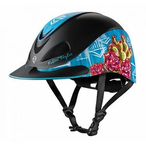 Troxel Fallon Taylor Riding Helmet - Vintage Cactus