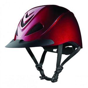 Troxel Liberty Riding Helmet - Ruby