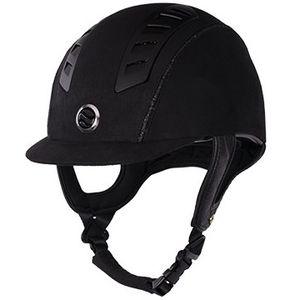 Back On Track EQ3 MIPS Riding Helmet - Black Microfiber Shell