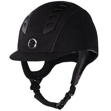 Back-On-Track-EQ3-Riding-Helmet---Black-Microfiber-Shell-22700