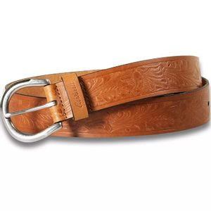 Carhartt Womens Tooled Belt - Brown