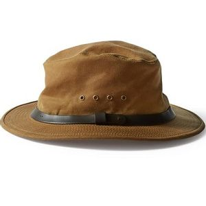 Filson Unisex Tin Cloth Packer Hat - Tan