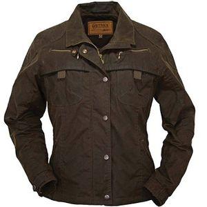 Outback Trading Sheila's Delight Oilskin Jacket - Bronze