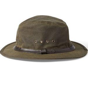 Filson Unisex Tin Cloth Packer Hat - Otter Green
