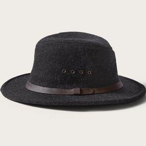Filson Men's Wool Packer Hat - Charcoal