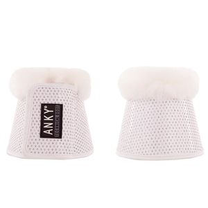 ANKY Climatrole Soft & Shiny Bell Boots- White