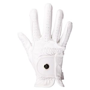 BR All Weather Pro Riding Gloves - White