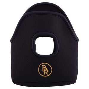 BR English Stirrup Covers - Black