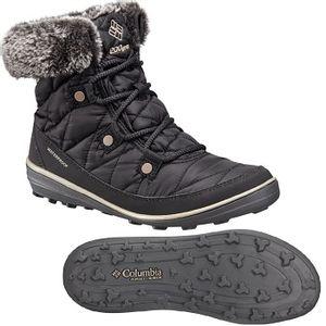 Columbia Women's Heavenly Shorty Omni-Heat Boots - Black/Kettle