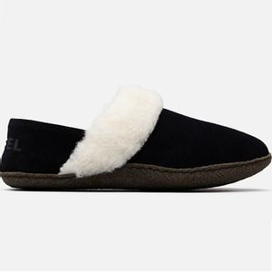 Sorel Women's Nakiska Slipper II - Black/Natural