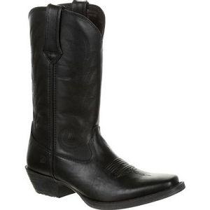 Durango Women's Black Leather Western Boots