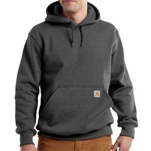 Carhartt Men's Rain Defender Paxton Heavyweight Hooded Sweatshirt - Carbon Heather