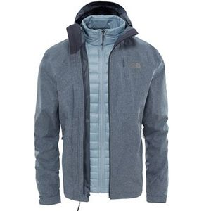 The North Face Men's Thermoball Triclimate Jacket - Dark Grey Heather