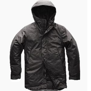 The North Face Men's Shielder Parka - Dark Grey Heather