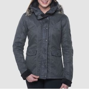 Kuhl Women's Arktik Down Jacket - Carbon