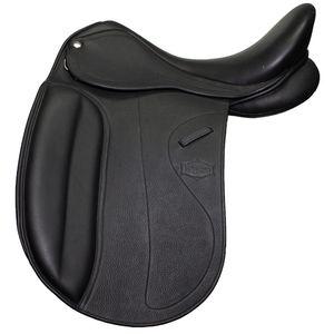 New Elegance Double Leather Dressage Saddle