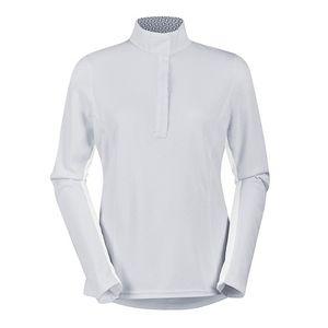 Kerrits Ladies Long Sleeve Spectrum Show Shirt - White