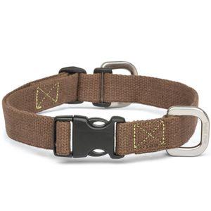 West Paw Strolls Dog Collar with Hemp - Mocha