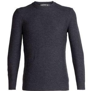 Icebreaker Men's Waypoint Crewe Sweater - Char Heather