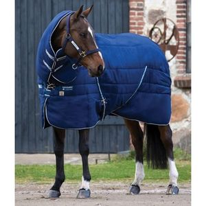 Rambo 450g Vari-Layer Plus Stable Rug - Navy/Navy/White