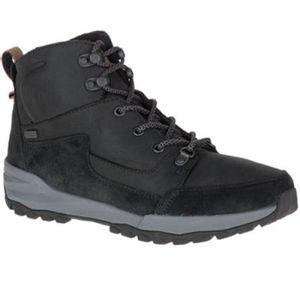 Merrell Women's Icepack Lace Up Polar Waterproof Boots - Black