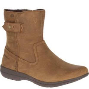 Merrell Women's Encore Kassie Mid Waterproof Boots - Tan
