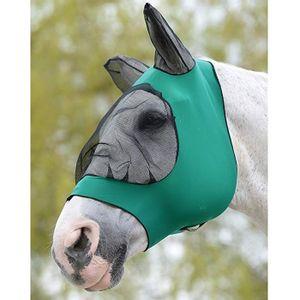 Weatherbeeta Stretch Eye Saver Mask w/Ears - Hunter/Black