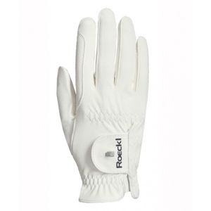 Roeckl Roeck-Grip Pro Riding Glove - White