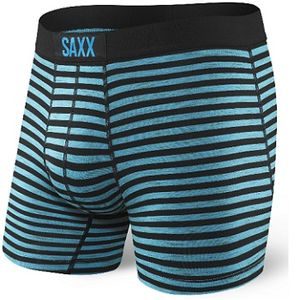 Saxx Men's Vibe Boxerbriefs - Black Space Hiker Stripe