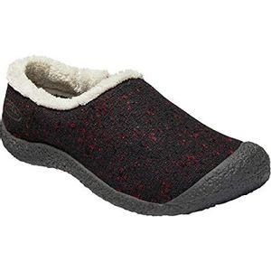 Keen Women's Howser Wool Slide - Fired Brick/Raven