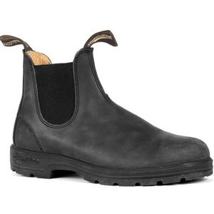 Blundstone Leather Lined Boots(587) - Rustic Black