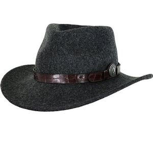 Outback Trading Women's Collingsworth Wool Hat - Grey