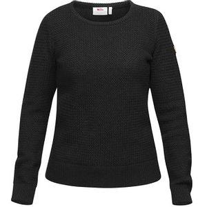 Fjallraven Women's Ovik Structure Sweater - Dark Grey