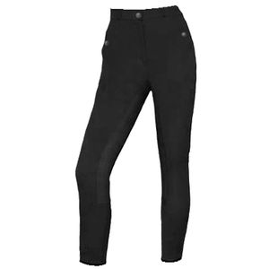 Trainer's Choice Women's Claire Leather Full Seat Breech with Coolmax - Black - 24R & 24L