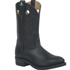 Canada West 5261EE Men's Loggertan CSA Boots - Black