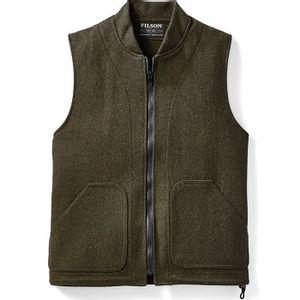 Filson Men's Wool Vest Liner - Forest Green