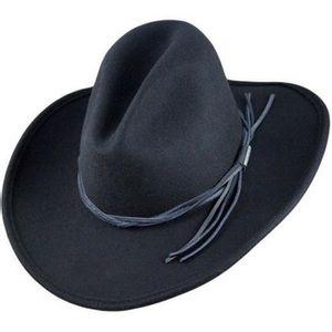 Stetson Gus Western Hat - Black