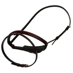 Vespucci Traditional Square Raised Noseband with Flash